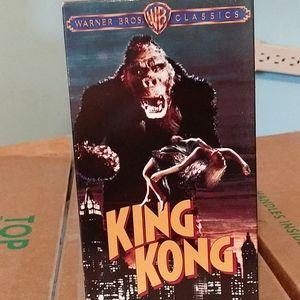 VHS movie king kong
